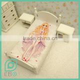 boho home decor best selling product bedclothes anime custom bed sheet Amagi Brilliant Park Latifah Fleuranza