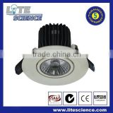 High lumen 12w Led Down light with CE&ROHS frosted acrylic cover,die-cast aluminum parts