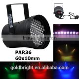 PAR36 LED discotheque lighting LED par 36 light RGB