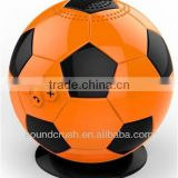 2014 innovative products for import portable Football Bluetooth speaker Bluetooth 2.1 handsfree carkit