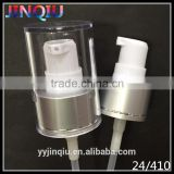High Quality Aluminium Plastic Liquid Metal 24mm Cosmetic Bottle Lotion Pump