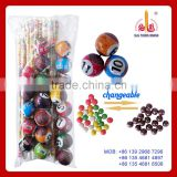 table tennis/billiards/snooker ball toy candy