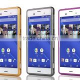 Frame Bumper Case + Metal Back Cover For Sony Xperia Z3 mini compact