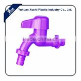 Factory Supply high quality vegetable garden faucet plastic hose bib tap abs herbary faucet with connector