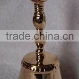 Tibetan brass temple/church/ritual bell A3-501 with Vajra Dorje handle hand for home decor (E206)