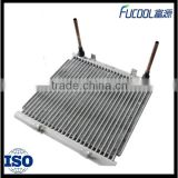 Brazed high efficiency aluminum micro channel heat exchanger coil