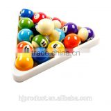 High quality Pool ball ABS Triangle/ Factory promotion