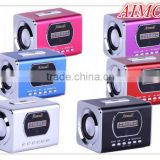 Portable laptop Mini sound box with LED digital display speaker Aimodi -SM 01Y