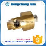 double row angular contact ball bearing rotary joint large diameter copper pipe rotary joint
