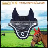 Customization with Rhinestones and cords Horse Eyes Fly Mask