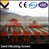 Durable vibrating screener/sand extracting machine for coal