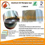 Aluminum foil fiberglass cloth insulation tape for roof pipeline duct and HVAC