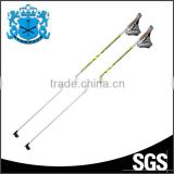 Steel tip fashion design firm carbon fiber custom ski pole