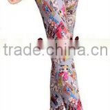 Sale Leggings Cartoon Girl Seamless Polyester Printed Leggings Fashion Colored Drawing Leggings