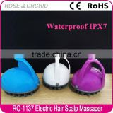 Battery operated vibrating acupressure vibrator massage machine for bathroom