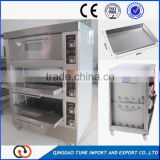 Bakery Equipement Decks Baking Oven Pizza Bread Gas bakery Oven Thermostat Arabic Restaurant Bread Baking Oven