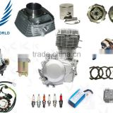Chinese Factory Motorcycle Parts Supplier cd70 wave100 cg125, TVS Bajaj Boxer Motorcycle Spare Parts Engine Parts