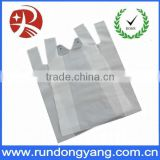Cheap price bio-degradable plastic t shirt bags for grocery