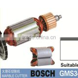 Marble cutter rotor/ armature & stator suitable for bosch GMS34