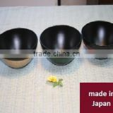 Classic and High quality lacquer bowl, lacquerware made in Japan at high cost performance