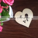 new 2015 air freshner/freshener/fresher lovely wood heart with coffee scent