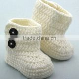 wholesale new fashion girl crochet baby booties