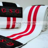 Elasticated Weightlifting Knee Wraps