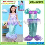 Children Swimwear Girls Lace Solid Color Swimsuit Kids Lovely Bikini with Hat Princess Three Piece Swimwear