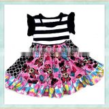 Wholesale baby dress new style mini mouse print girls' clothes india summer clothing