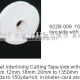 Hot-fuse Interlining Cutting Tape Interlining Fusing