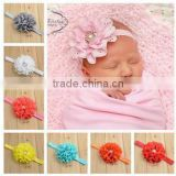 Kid Girl Baby Toddler Infant Flower Headband Hair Bow Band Accessories