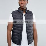 Fashion Waistcoat Coat Men Gilet Male Double Press Stud Pockets Sleeveless Jacket Vests Chalecos Pull&Bear Padded Gilet