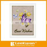 Lovely Butterfly Design Festive Cards Embroidery Greeting Cards