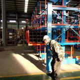 Shake the cantilever shelf crane for 6 meters to 12 meters of profile steel, channel steel Angle steel round steel pipes
