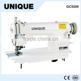GC5200 single needle lockstitch industrial sewing machine with edge trimmer cutter                                                                         Quality Choice
