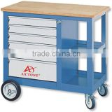 Portable 7-drawer Trolley Garage steel Workbench Cabinet