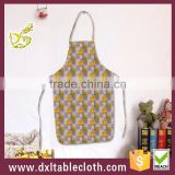 Plastic Anti oil Waterproof Printed fancy Bib kitchen Aprons pe apron