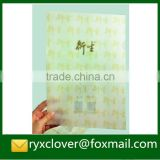 School & office PP stationery eco-friendly plastic L shape a4 file folder with custom printing