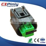 2 way female Tyco sensor auto plug for BMW Porsche Benz