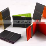 Factory price!Best selling classic genuine leather money clip wallet,slim money clip                                                                         Quality Choice                                                     Most Popular