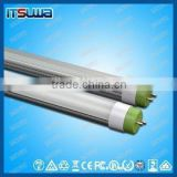 Compatible Rotating end cap T8 LED tube 48inch, short-circuit protection function, Factory supply