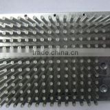 High grade low cost cold forging pin fin aluminum heatsink (pin fin heatsink, aluminum heat sink)
