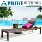 Patio Wicker Furniture Beach Sunbeds Lounge Rattan Sun Patio Pool Chaise Lounge Chair                                                                         Quality Choice