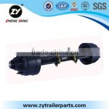 Export oriented supplier wholesale FUWA truck axle