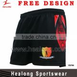 Wholesale Athletic Wear Mens Rugby Boardshorts Rugby Training Shorts Jersey Uniforms