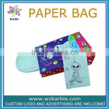 CMYK full color print paper gift bags