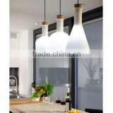 Glass LED pendant bottle lamp indian pendant lighting Modern Glass Bottle Labware LED pendant lamp