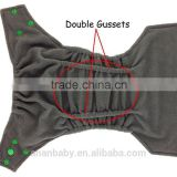 Baby products pul fabric waterproof bamboo charcoal cloth diaper