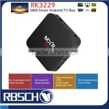 Newest model MXR Rockchip RK3229 Quad core Android 5.1 Smart TV BOX support www youtube com watch wifi TV BOX