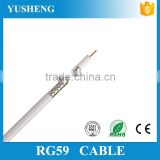 15Years Lin'an Manufacturer RG59 CCTV Cable / RG59 CCTV Coaxial Cable for Camera and DVR 1000ft ROHS